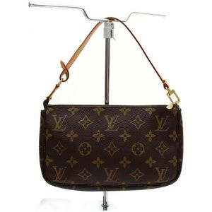 100% Auth Louis Vuitton  Pochette Wrislet/Clutch